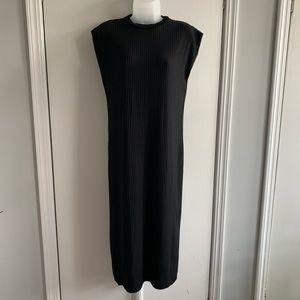 Zara Ribbed Midi Dress